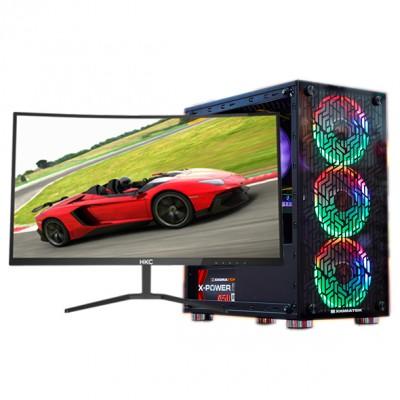 Bộ máy tính Core I3 9100F , Ram 8G , VGA GTX960 , LED HKC 27